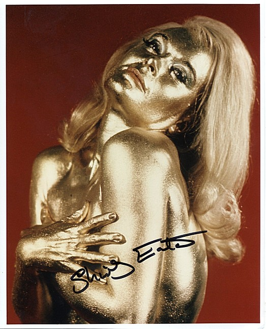 Eaton, Shirley - Bond Goldfinger signed photo